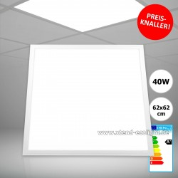 Xtend LED Panel PLe2.0 Eco, 620x620mm, 40W, 6000K, nicht dimmbar