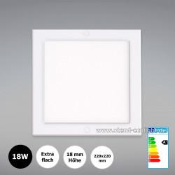 Xtend Mini LED Panel PLd Delta, 220x220x18mm, 18W, 4000K, nicht dimmbar, flickerfrei